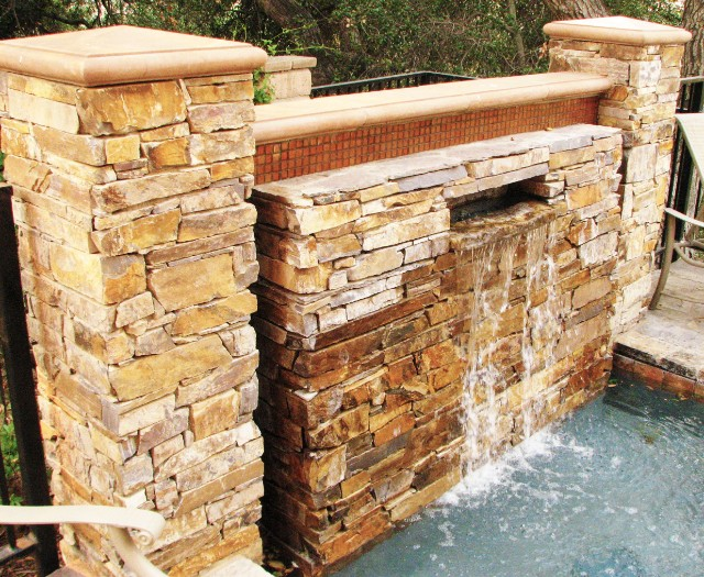Ledgestone Fountain