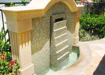 Tile Wall Fountain