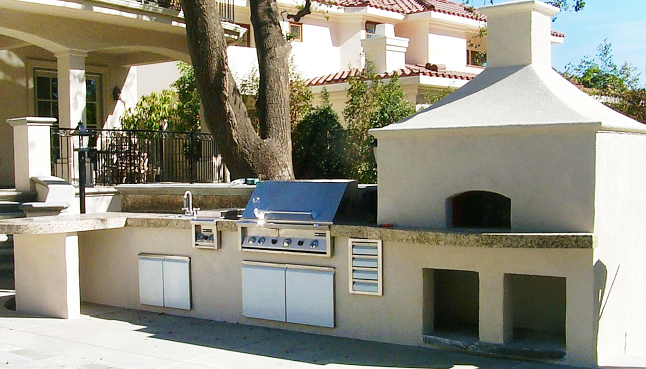 bbq-pizza oven